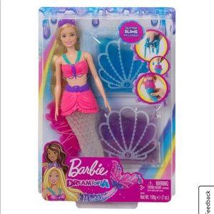 Barbie Dreamtopia Slime Mermaid Doll w 2 Slime Pks